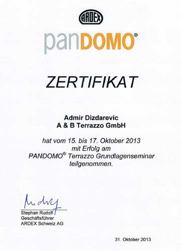 ab-terrazzo-pandomo-zertifikat-admir-dizdarevic